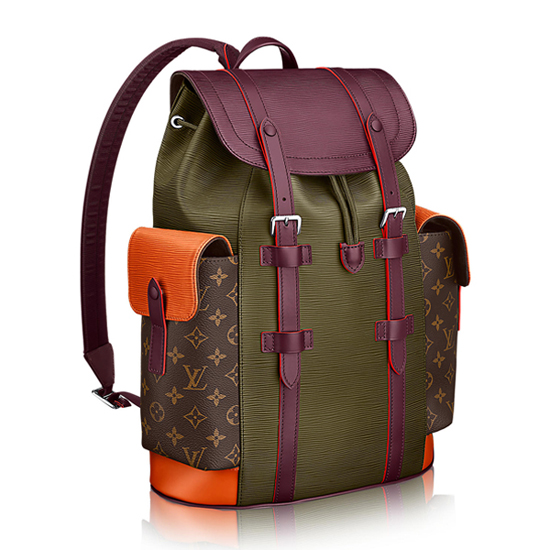 Louis Vuitton M53425 Christopher PM Backpack Epi Leather