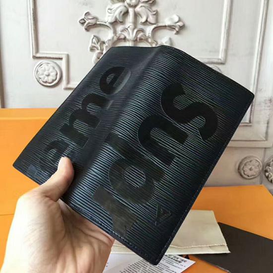 Louis Vuitton x Supreme Brazza Wallet M67721 Epi Leather