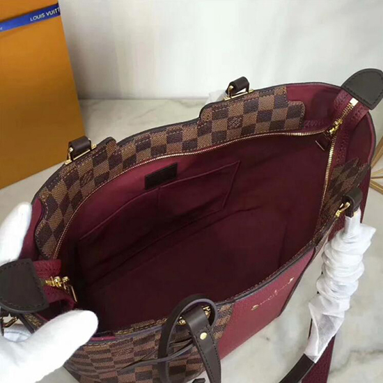 Louis Vuitton Jersey N44021 Damier Ebene Canvas