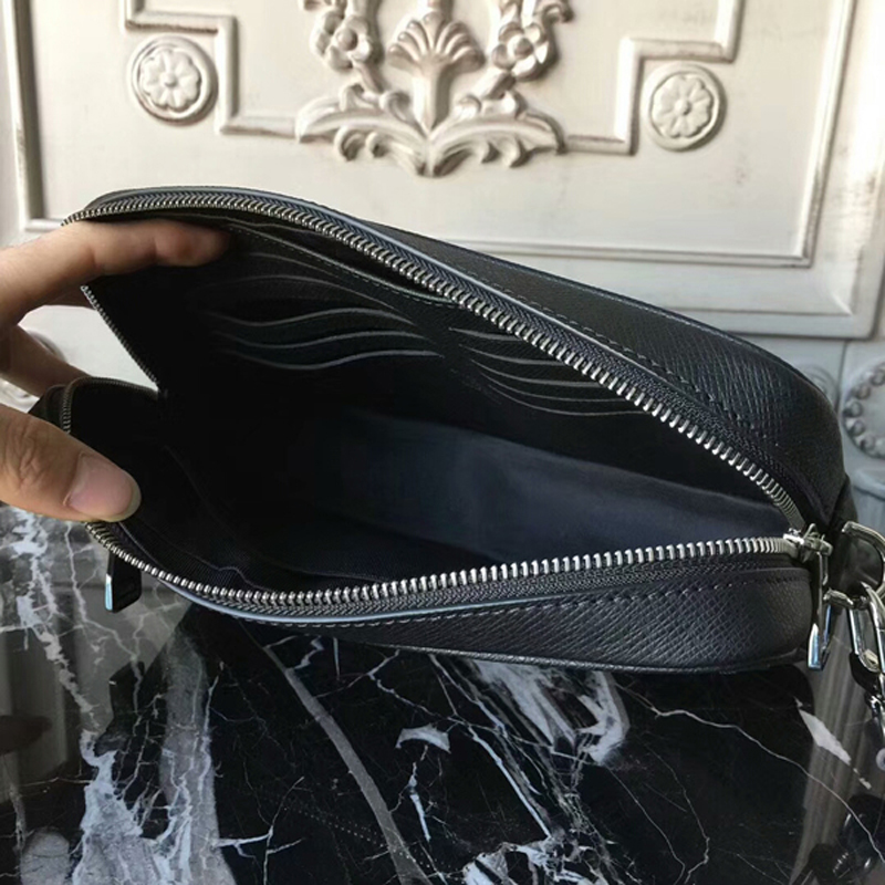 Louis Vuitton Kasai Clutch M33409 Taiga Leather