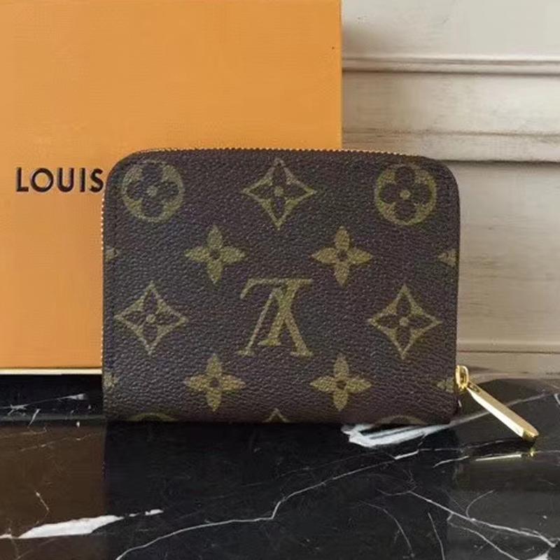 Louis Vuitton Zippy Coin Purse M62310 Monogram Canvas
