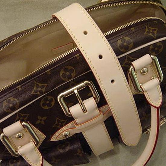 Louis Vuitton M40025 Manhattan GM Tote Bag Monogram Canvas