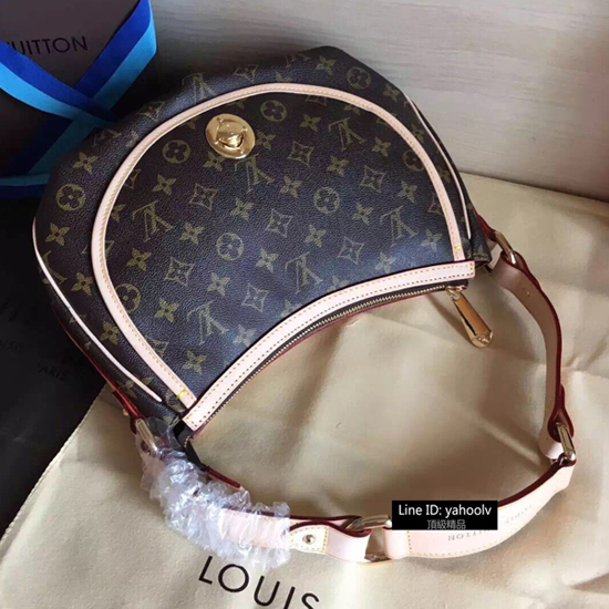 Louis Vuitton M40076 Tulum PM Hobo Bag Monogram Canvas