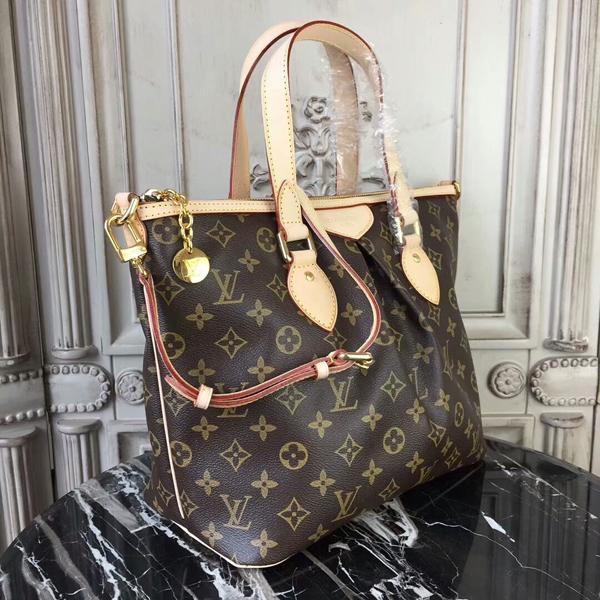 Louis Vuitton M40145 Palermo PM Shoulder Bag Monogram Canvas