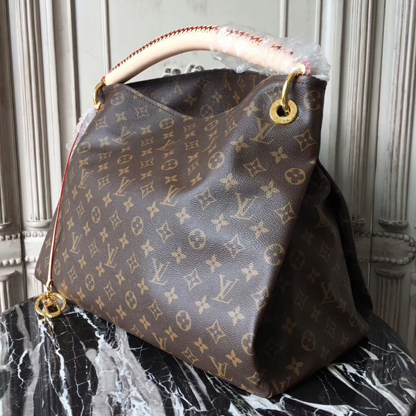 Louis Vuitton M40249 Artsy MM Hobo Bag Monogram Canvas