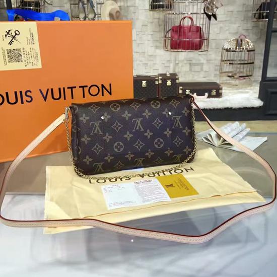 Louis Vuitton M40718 Favorite MM Monogram Canvas