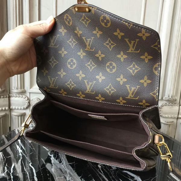 Louis Vuitton M40780 Pochette Metis Crossbody Bag Monogram Canvas