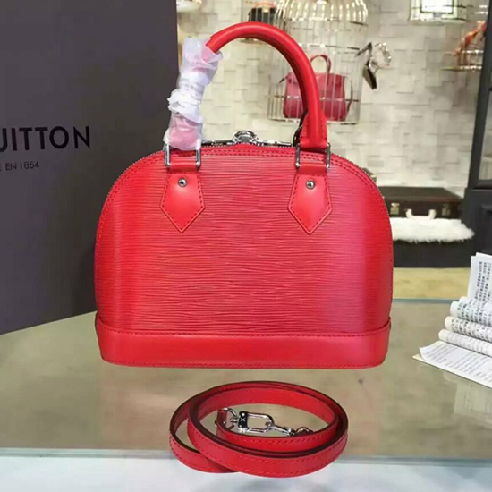 Louis Vuitton M41160 Alma BB Tote Bag Epi Leather