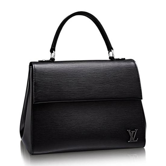 LOUIS VUITTON CLUNY MM EPI LEATHER HANDBAG Noir M41302