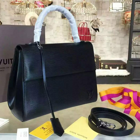 Louis Vuitton M41302 Cluny MM Tote Bag Epi Leather