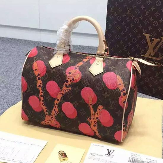 Louis Vuitton M41527 Speedy 30 Ramages Tote Bag Monogram Canvas