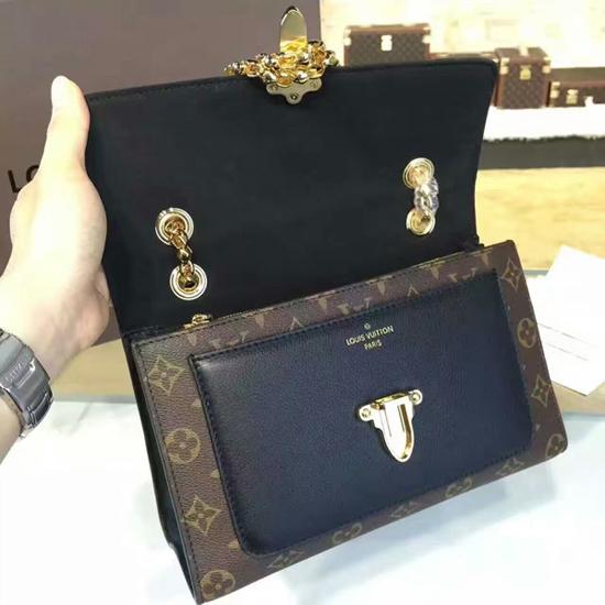 Louis Vuitton M41730 Victoire Shoulder Bag Monogram Canvas