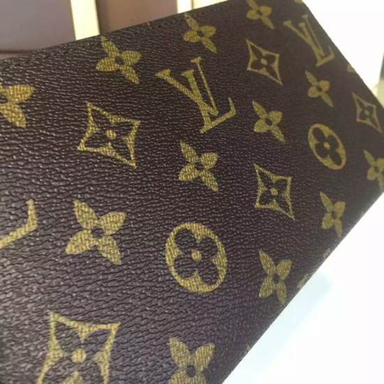 Louis Vuitton M41896 Zippy Wallet Monogram Canvas