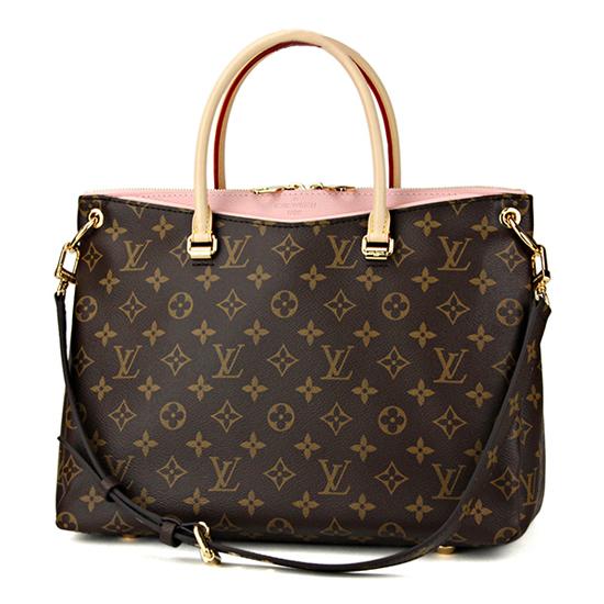 Louis Vuitton M43400 Pallas Tote Bag Monogram Canvas