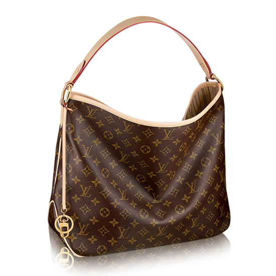 Louis Vuitton M50154 Delightful PM Hobo Bag Monogram Canvas