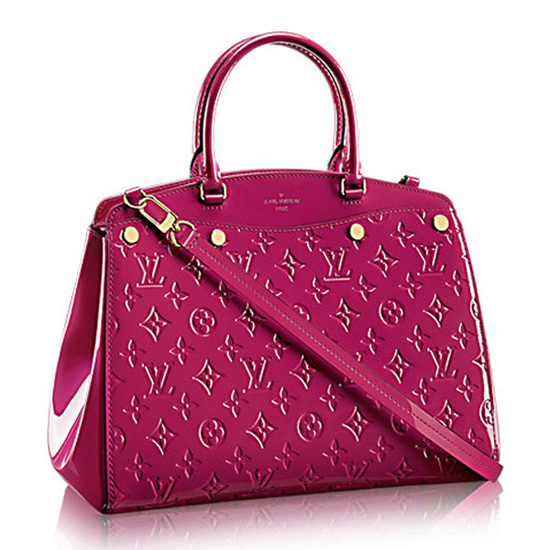 Louis Vuitton M50599 Brea MM Tote Bag Monogram Vernis