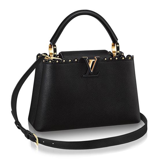 Louis Vuitton M54565 Capucines Pm Tote Bag Taurillon Leather