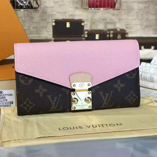 Louis Vuitton M61279 Pallas Wallet Monogram Canvas