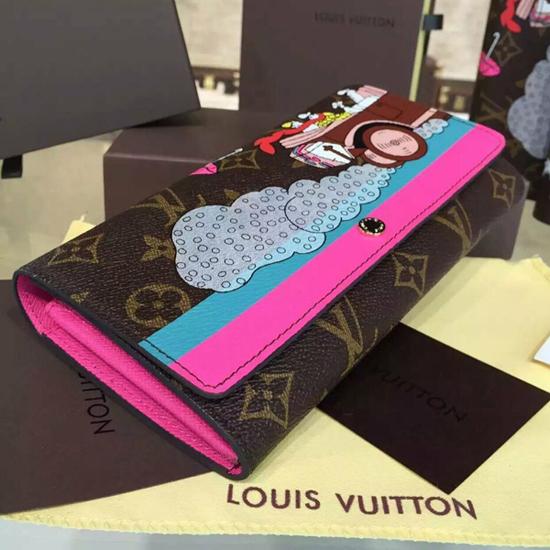 Louis Vuitton M61359 Sarah Wallet Evasion Monogram Canvas
