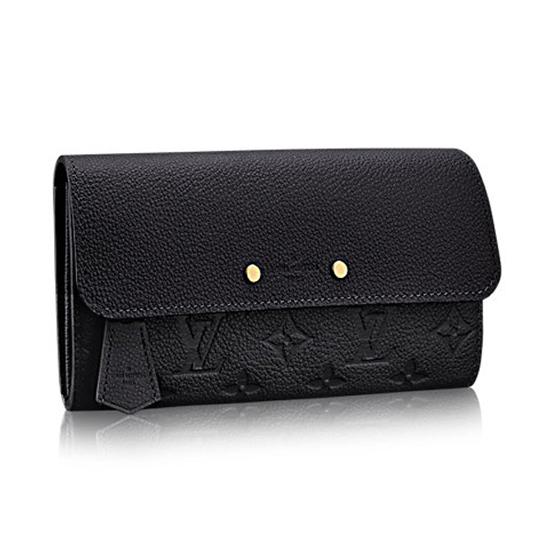 Louis Vuitton M61833 Pont-Neuf Wallet Monogram Empreinte Leather