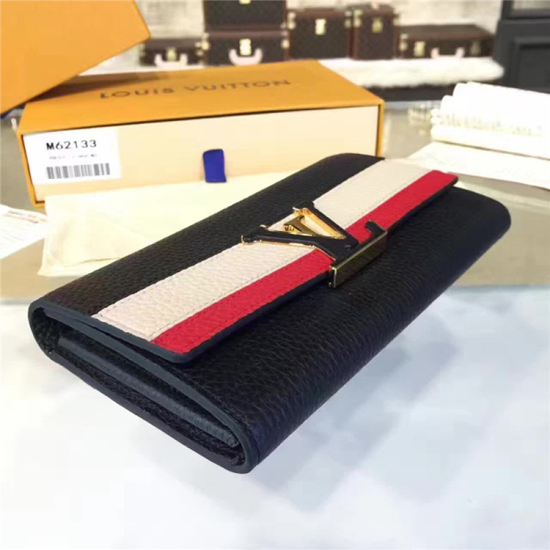 Louis Vuitton M62133 Capucines Wallet Taurillon Leather