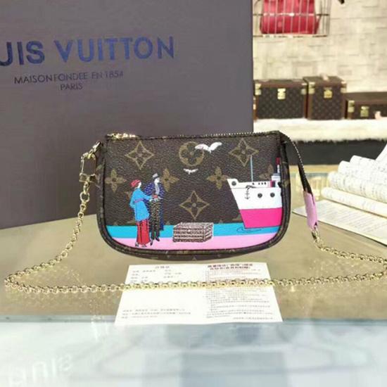 Louis Vuitton M62141 Mini Pochette Accessoires Monogram Canvas