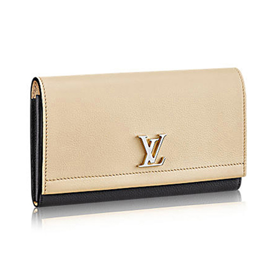 Louis Vuitton M62328 Lockme II Wallet Taurillon Leather