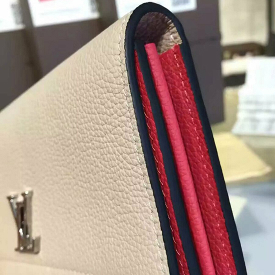 Louis Vuitton M62350 Lockme II Wallet Taurillon Leather
