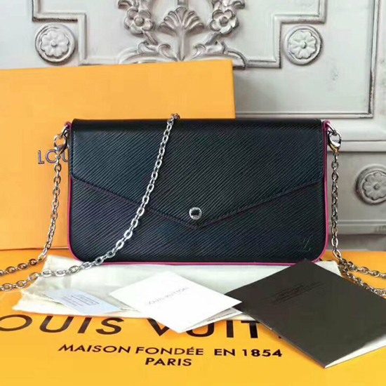 Louis Vuitton M64579 Pochette Felicie Crossbody Bag Epi Leather