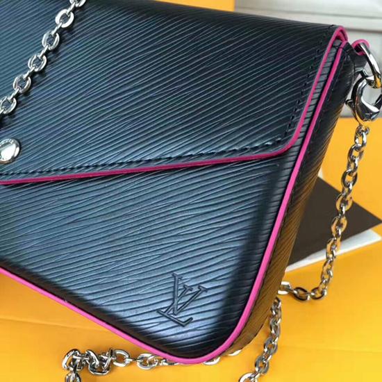 Louis Vuitton M64579 Pochette Felicie Crossbody Bag Epi Leather