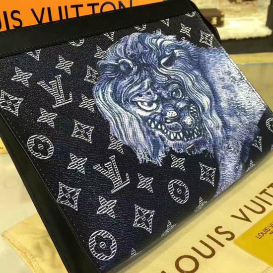 Louis Vuitton M66639 Pochette Voyage MM Monogram Canvas