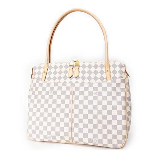 Louis Vuitton N41175 Figheri GM Shoulder Bag Damier Azur Canvas