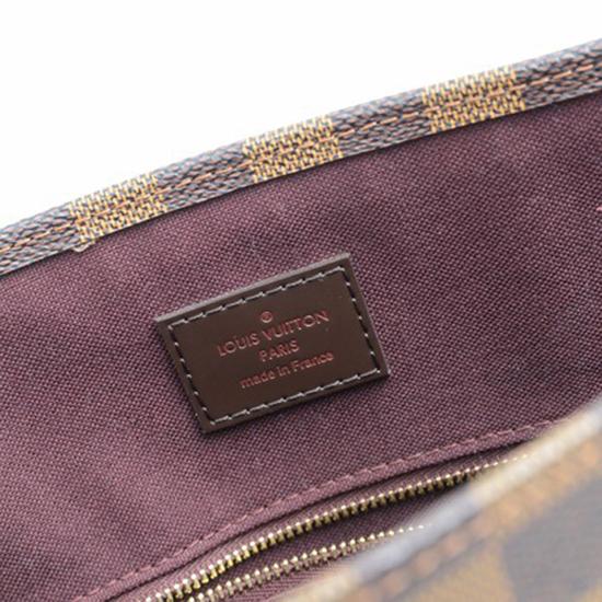 Louis Vuitton N41226 Sac Plat PM Tote Bag Damier Ebene Canvas