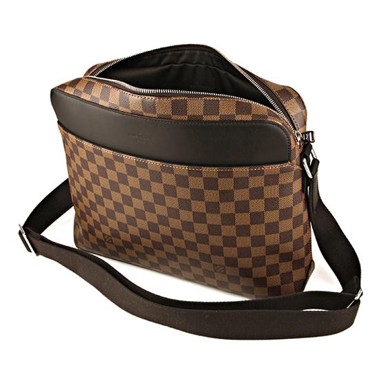 Louis Vuitton N41569 Jake Messenger MM Messenger Bag Damier Ebene Canvas