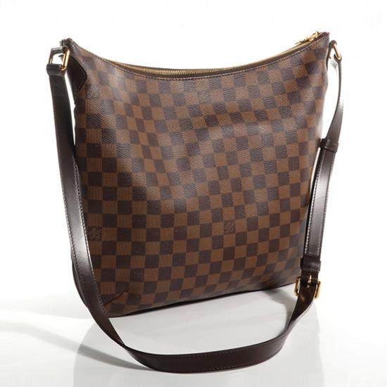 Louis Vuitton N42250 Bloomsbury Gm Crossbody Bag Damier Ebene Canvas