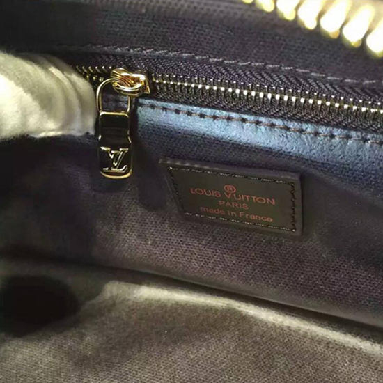 Louis Vuitton N47527 King Size Toiletry Bag Damier Ebene Canvas