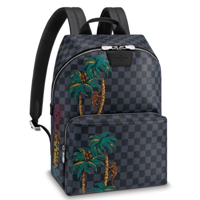 Louis Vuitton Apollo Backpack Damier Cobalt N50003