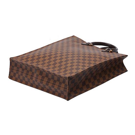 Louis Vuitton N51140 Sac Plat Tote Bag Damier Ebene Canvas