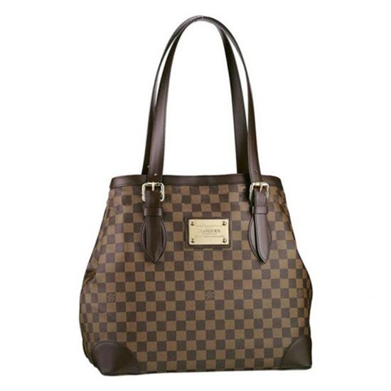Louis Vuitton N51203 Hampstead GM Shoulder Bag Damier Ebene Canvas