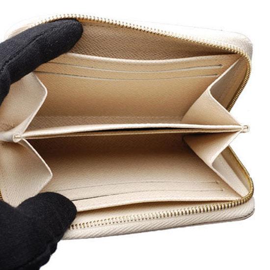 Louis Vuitton N63069 Zippy Coin Purse Damier Azur Canvas