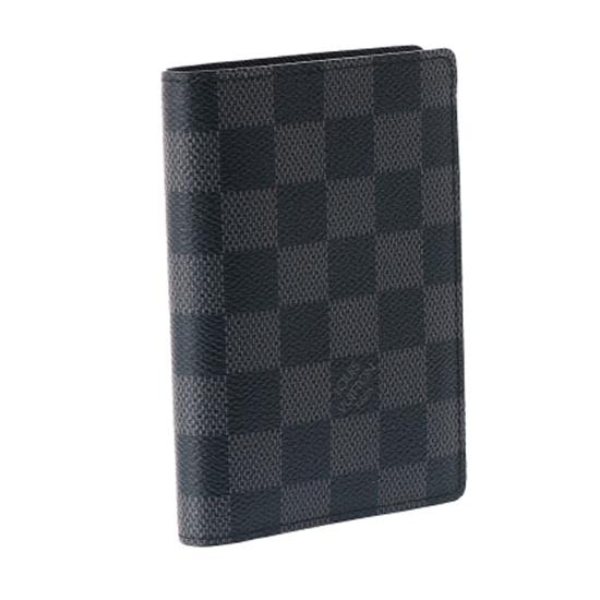 Louis Vuitton N63117 James Wallet Damier Graphite Canvas