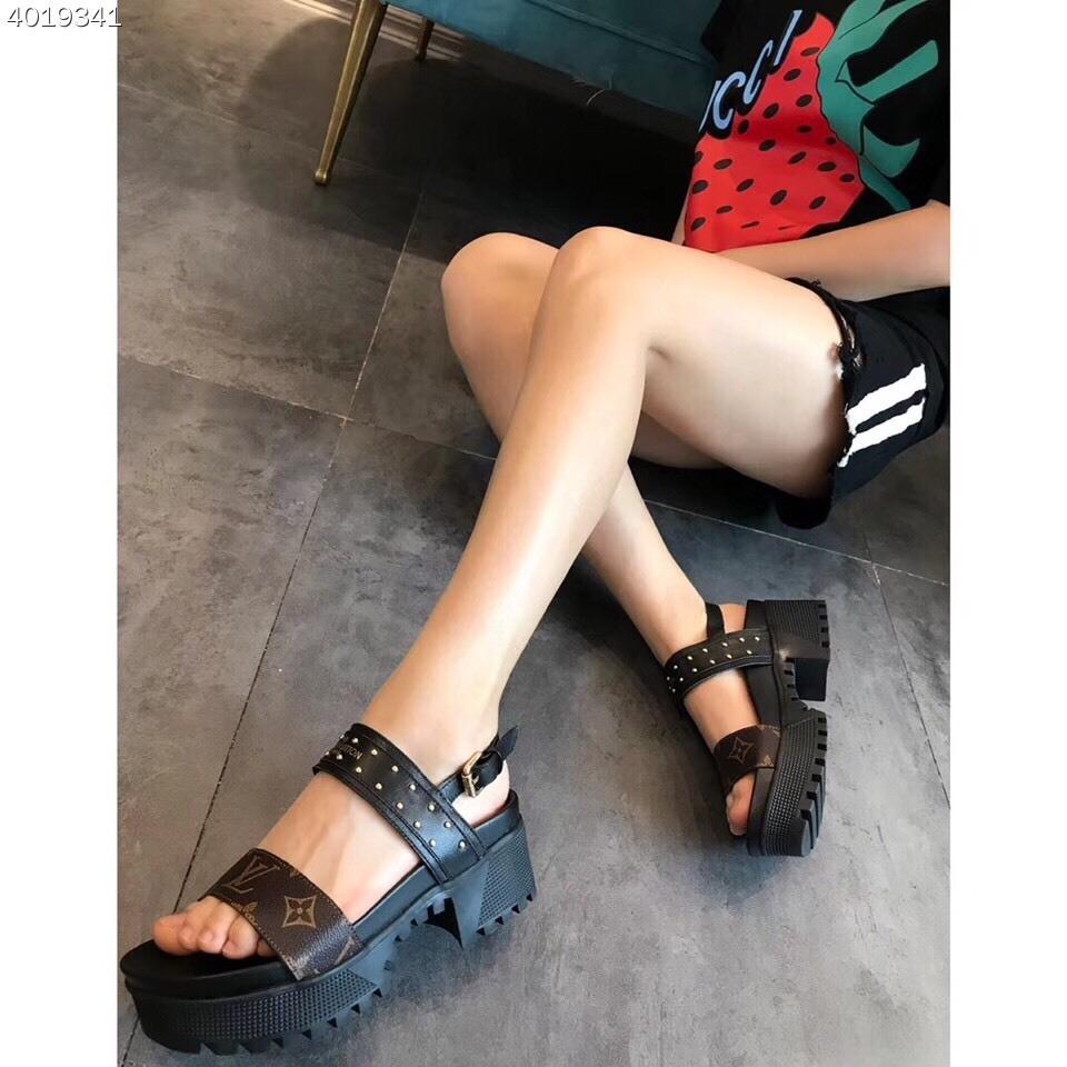Louis Vuitton Laureate Platform Sandal
