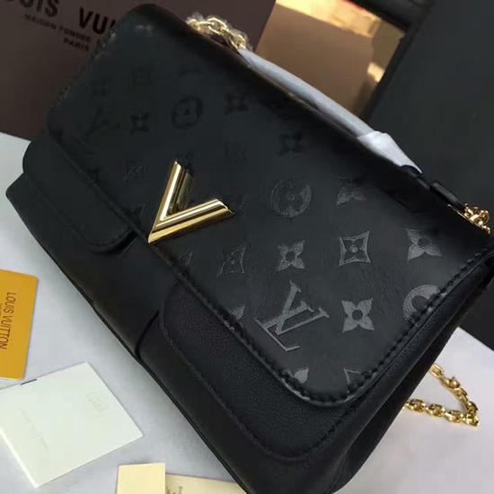 Louis Vuitton M42899 Very Chain Bag Shoulder Bag Taurillon Leather 7a3cca5438066